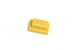 Button for metal-case yellow