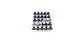 Pushbutton tact switches full set of 25 for Roland S-550