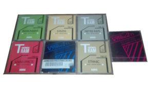 Korg T-series floppy