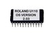 Roland U-110 OS Version 2.03